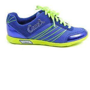Coach Darla Blue/Green Nylon Lightweight Shoes